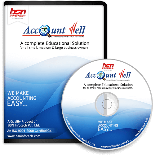 Account-Well : Best Accounting Software India